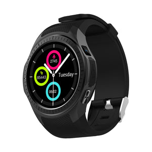 Microwear L1 1.3inch GPS Smart Watch