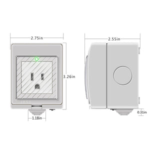 EJLink Waterproof Smart Plug Socket