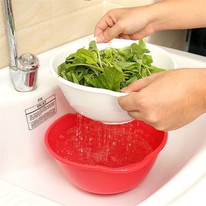 3 Sets Multi-purpose Drain Basket-Kitchen & Dining-skrstar.com-Red-