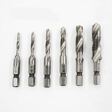 Load image into Gallery viewer, 6PCS 4341 M3 - M10 HSS Metric Tap Drill Bits for Machine Screw Thread