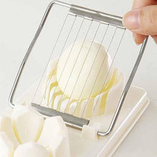 Load image into Gallery viewer, Hot Sale Cooking Tools 2in1 Cut Multifunction Kitchen Egg Slicer  Fruit Slicer