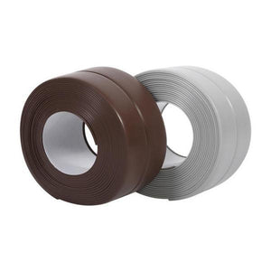 3.8mm Kitchen Bathroom Self Adhesive Wall Seal Ring Tape Waterproof & Mold Proof Edge Trim Tape Accessory