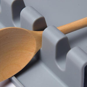 Kitchen Silicone Utensil Rest-Kitchen & Dining-skrstar.com-