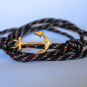 Inspire anchor Bracelet (100% inspire) | Black edition