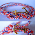 Inspire anchor Bracelet (100% inspire) | Red