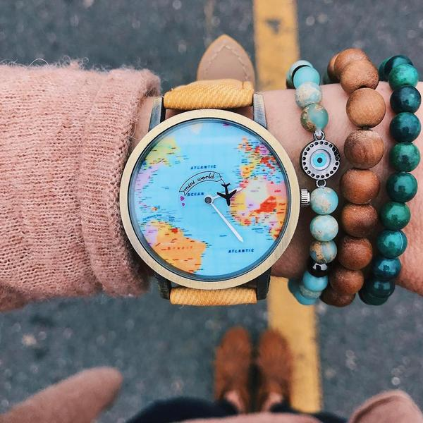 Wanderlust Traveler Watch - SHIPPING WORLDWIDE