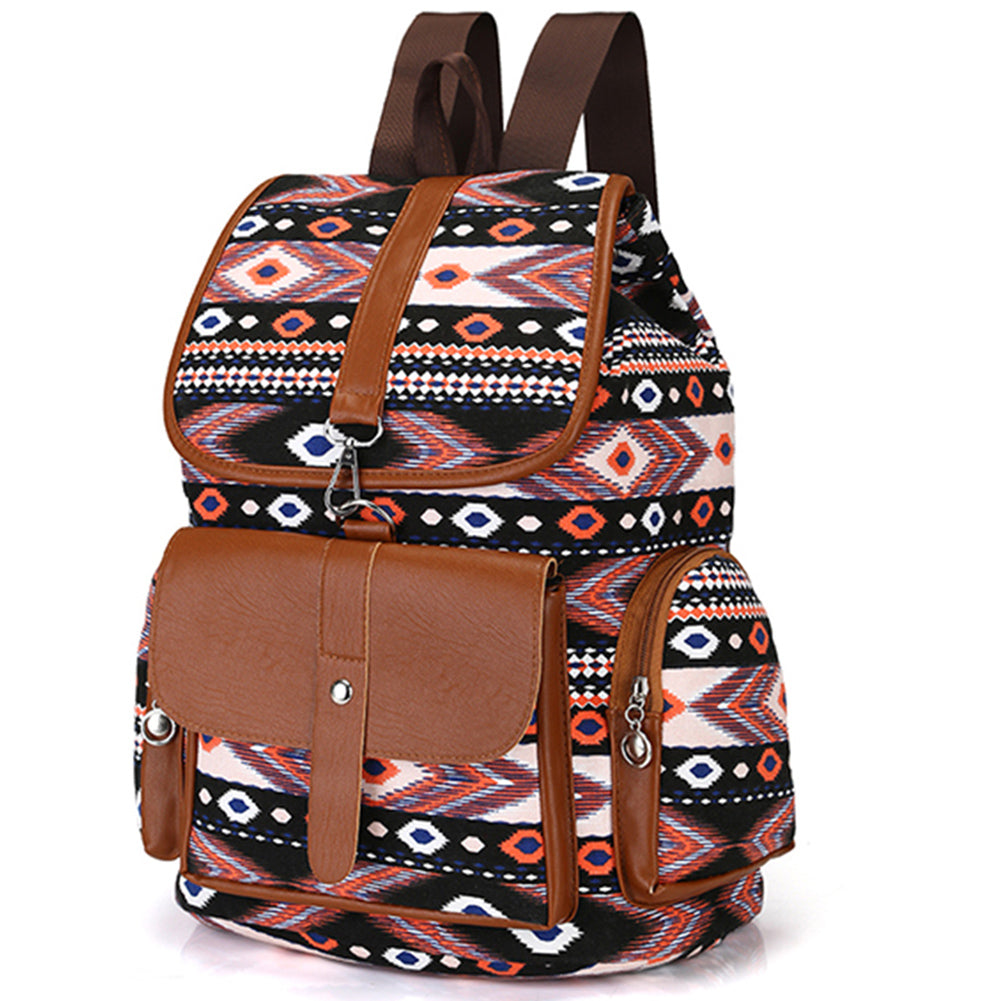Vintage Ethnic Women Backpack | Perfect for traveling