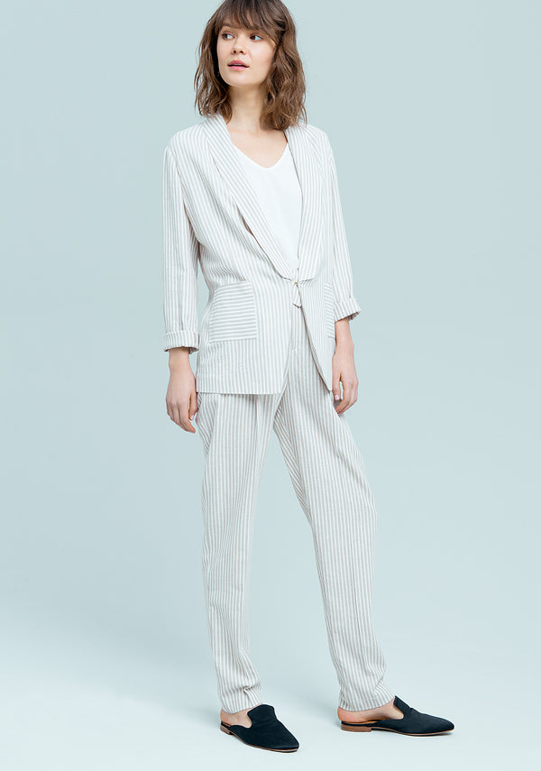 Striped open blazer-FRACOMINA-FR19SM524 (2221698941057)