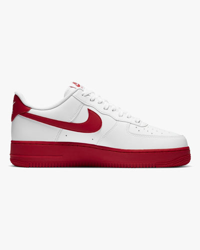 Nike Air Force 1 '07 - White / University Red