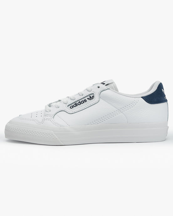 Adidas Originals Continental Vulc - Cloud White / Collegiate Navy UK 7 EG45887 4062051928364 Adidas Originals Trainers