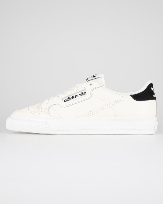 Adidas Originals Continental Vulc - Off White / Core Black UK 7 EG45897 4062051924403 Adidas Originals Trainers