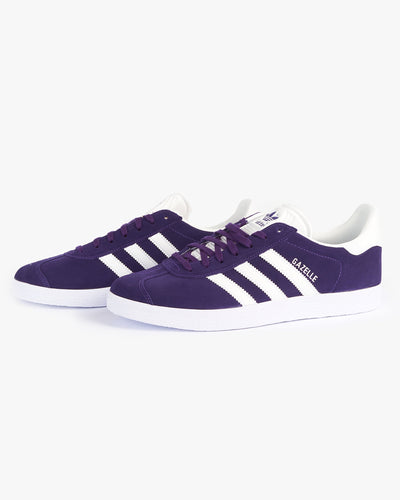 Adidas Originals Gazelle - Rich Purple / Cloud White Adidas Originals Trainers