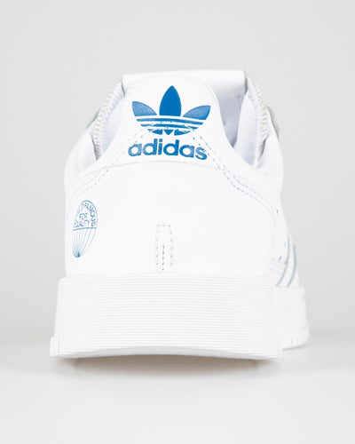 Adidas Originals Supercourt - Cloud White / Bluebird Adidas Originals Trainers
