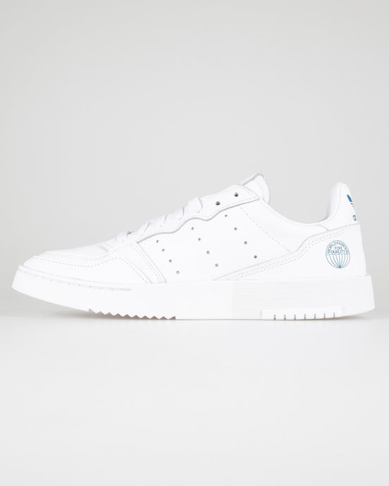 Adidas Originals Supercourt - Cloud White / Bluebird UK 7 EF58877 4062051443423 Adidas Originals Trainers