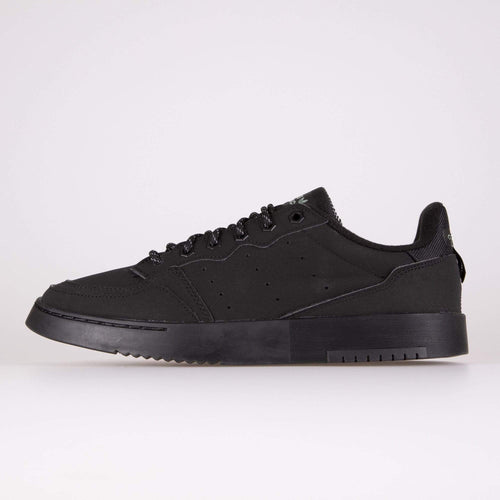 Adidas Originals Supercourt - Core Black / Black / Trace Green UK 7 FV46587 4062054062577 Adidas Originals Trainers