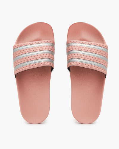 Adidas Originals Womens Adilette - Haze Coral / Cloud White Adidas Originals Flip Flops & Sliders