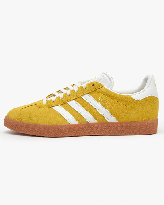 Adidas Originals Womens Gazelle - Wonder Glow / Cloud White / Gum UK 4 FU99074 4062059775977 Adidas Originals Trainers
