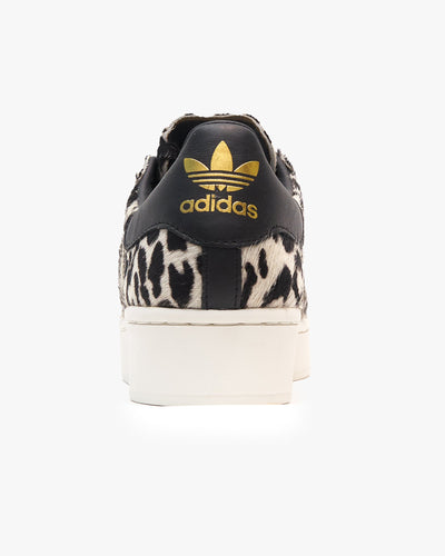Adidas Originals Womens Superstar Bold - Core Black / Off White / Gold Metallic Adidas Originals Trainers