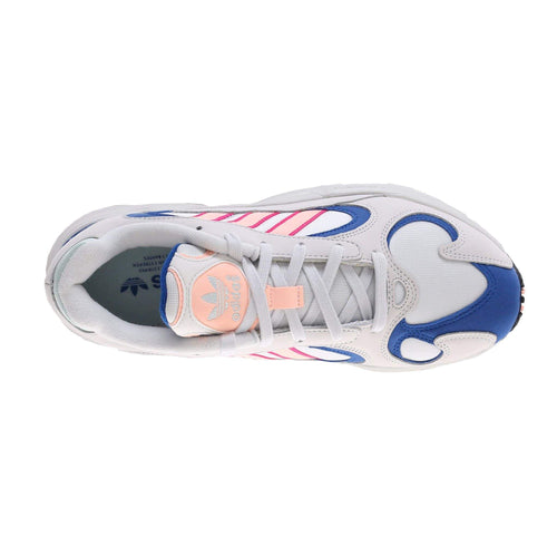 Adidas Originals Yung-1 - Crystal White / Clear Orange / Collegiate Royal Adidas Originals Trainers
