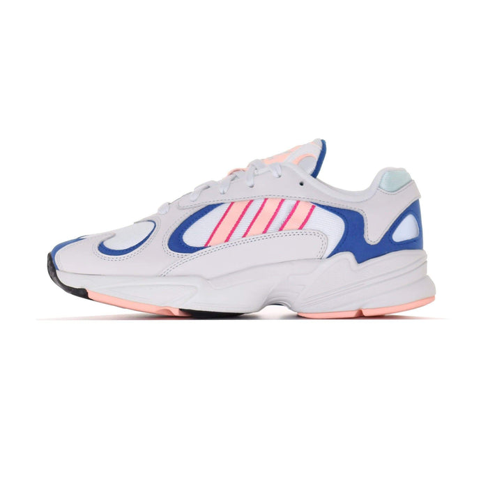 Adidas Originals Yung-1 - Crystal White / Clear Orange / Collegiate Royal UK 7 BD76547 4060514059518 Adidas Originals Trainers