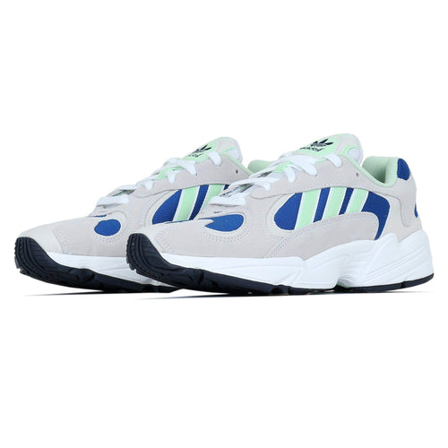 Adidas Originals Yung-1 - White / Glow Green Adidas Originals Trainers