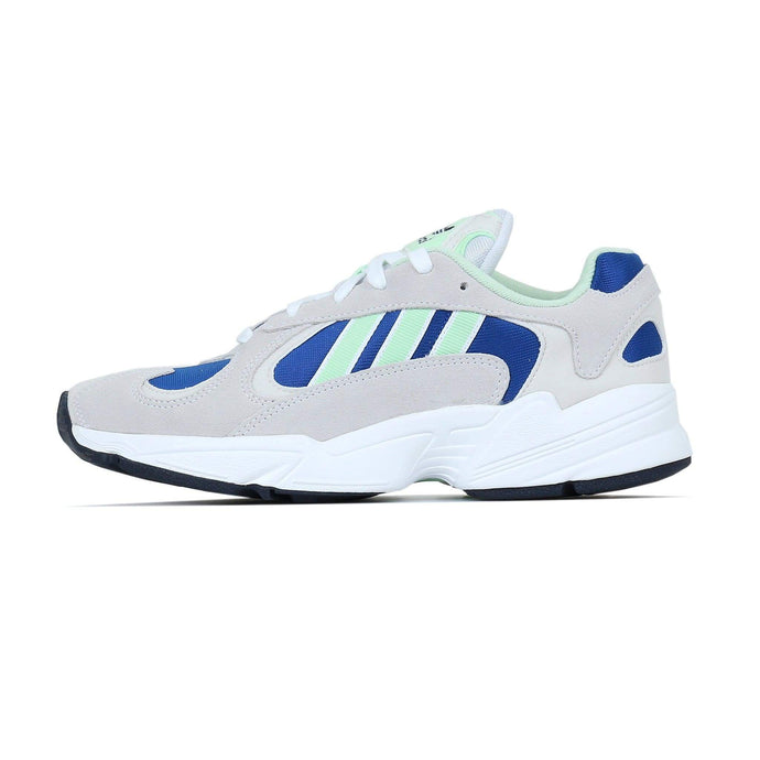 Adidas Originals Yung-1 - White / Glow Green UK 7 EE53187 4061616305329 Adidas Originals Trainers