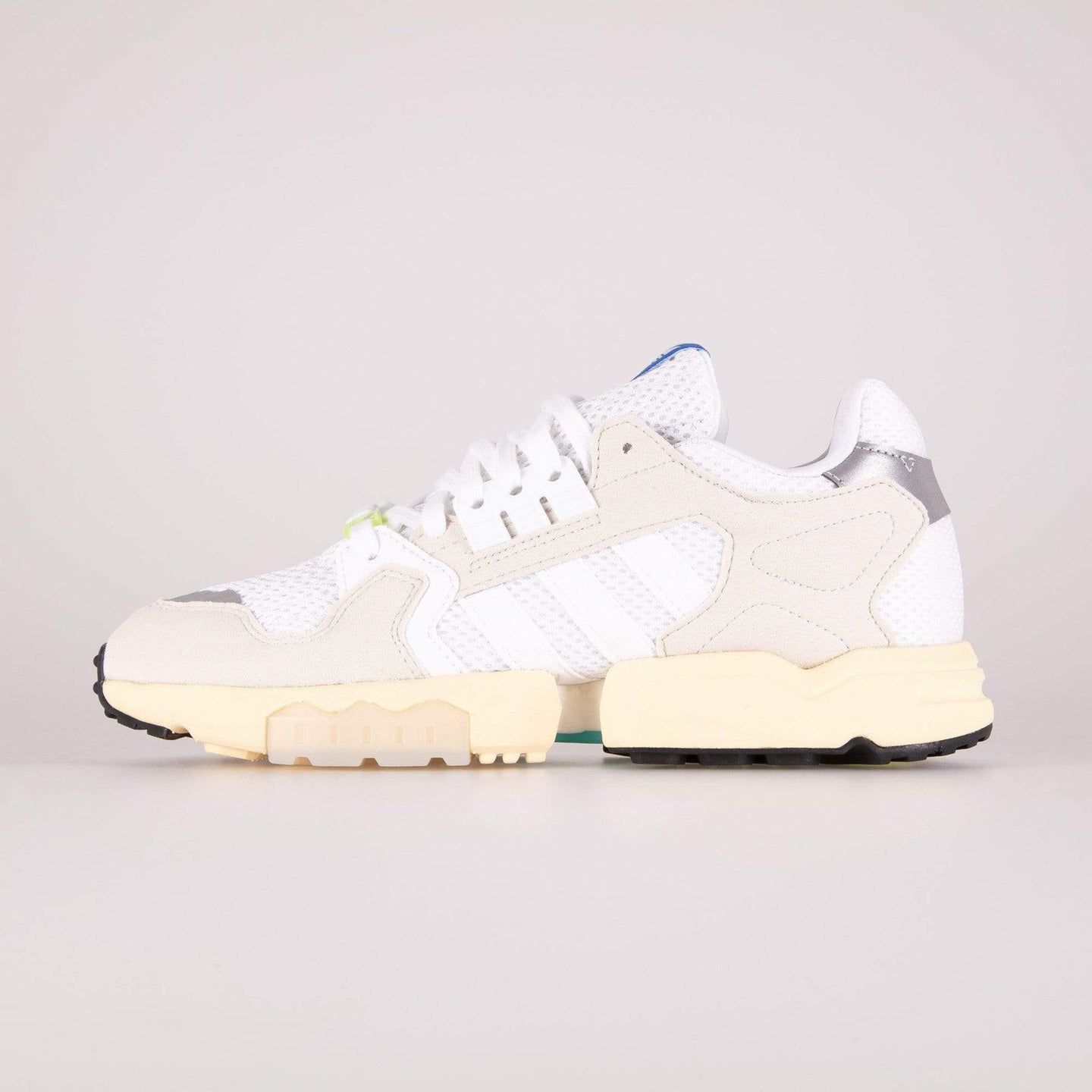 Adidas Originals ZX Torsion - Cloud White / Raw White / Easy Yellow UK 7 EE47917 4061623709233 Adidas Originals Trainers