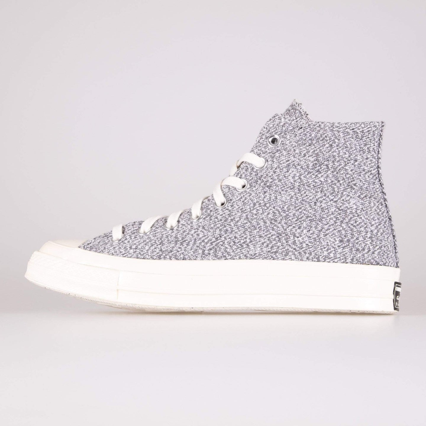 Converse Chuck 70 Hi Recycled Canvas - Black / White / Egret UK 7 166702C7 888757725281 Converse Trainers