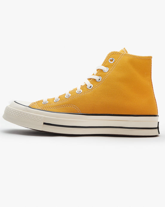 Converse Chuck 70 High - Sunflower / Black / Egret UK 7 162054C7 888755676141 Converse Trainers