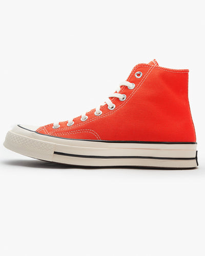 Converse Chuck 70 High Vintage Canvas - Enamel Red / Egret / Black UK 7 164944C7 888757074891 Converse Trainers