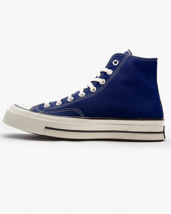 Converse Chuck 70 High Vintage Canvas - Rush Blue / Egret / Black UK 7 168509C7 194432289598 Converse Trainers