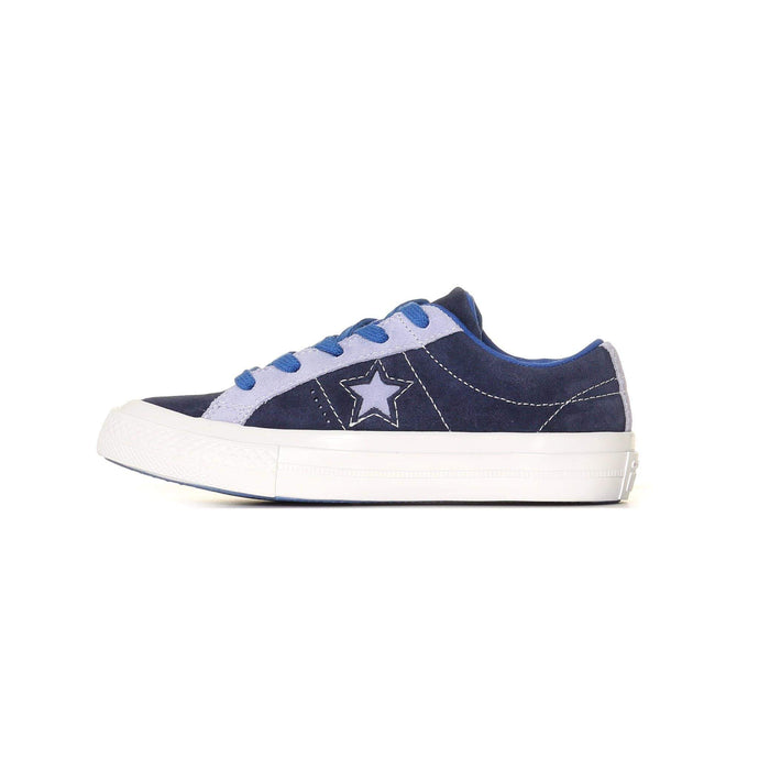 Converse Kids One Star Carnival Suede - Eclipse / Twilight Pulse C11 361807CC11 888755885000 Converse Trainers