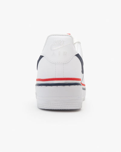 Nike Air Force 1 '07 LV8 1 - White / Habanero Red / Obsidian Nike Trainers