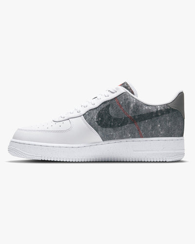 Nike Air Force 1 '07 LV8 'Recycled Wool' - White / Clear / Light Smoke Grey Nike Trainers