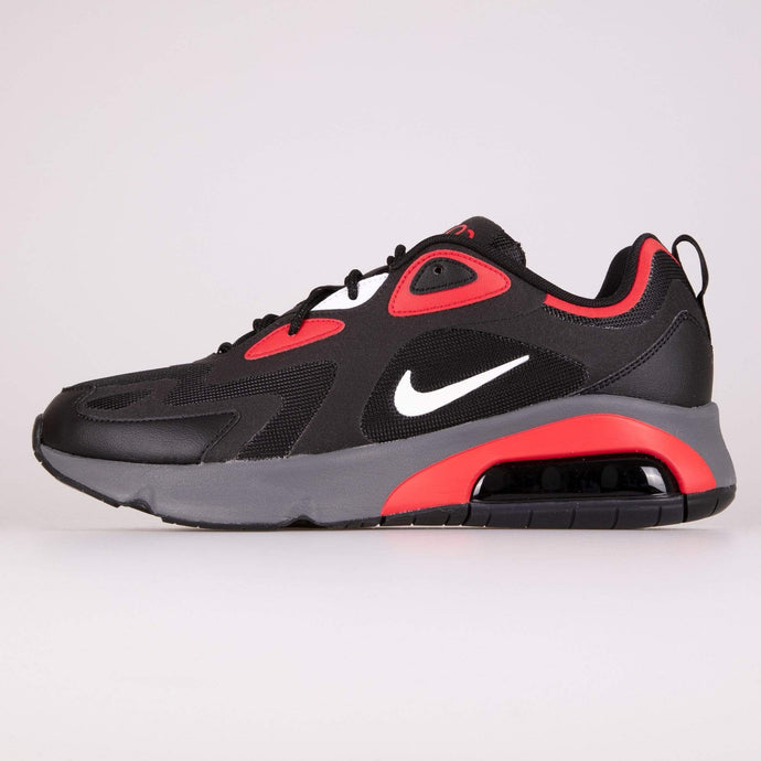 Nike Air Max 200 - Black / White / University Red UK 8 CI38650028 193654138578 Nike Trainers