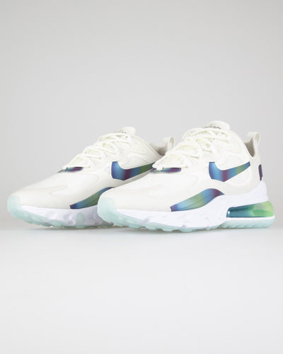 Nike Air Max 270 React 20 'Bubble Pack' - Summit White / Multicolour Nike Trainers