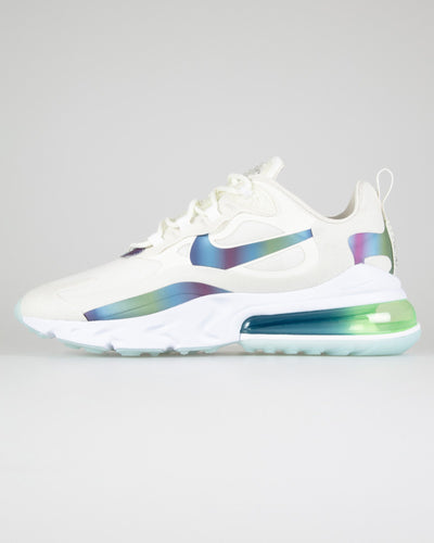 Nike Air Max 270 React 20 'Bubble Pack' - Summit White / Multicolour UK 7 CT50641007 193654146702 Nike Trainers