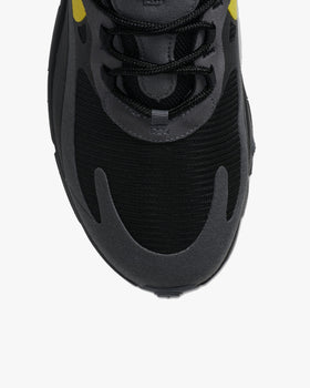Nike Air Max 270 React - Black / Tour Yellow Nike Trainers