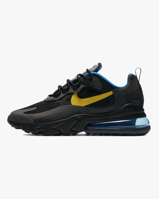 Nike Air Max 270 React - Black / Tour Yellow UK 6 DA15110016 194497793092 Nike Trainers