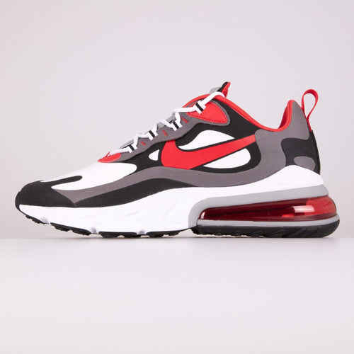 Nike Air Max 270 React - Black / University Red UK 6 CI38660026 193654139551 Nike Trainers