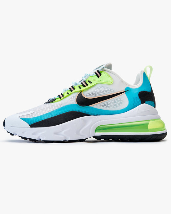 Nike Air Max 270 React SE - Oracle Aqua / Ghost Green / Black UK 7 CT12653007 Nike Trainers