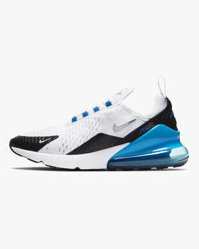 Nike Air Max 270 - White / Light Photo Blue / Black UK 6 DC19381006 Nike Trainers