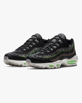 Nike Air Max 95 'Crater' - Black / Electric Green Nike Trainers