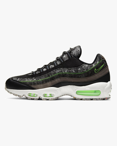 Nike Air Max 95 'Crater' - Black / Electric Green UK 7 CV6899-0017 Nike Trainers