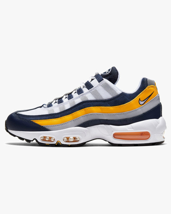 Nike Air Max 95 'Michigan' - Midnight Navy / University Gold / White UK 7 CZ0191-4007 Nike Trainers