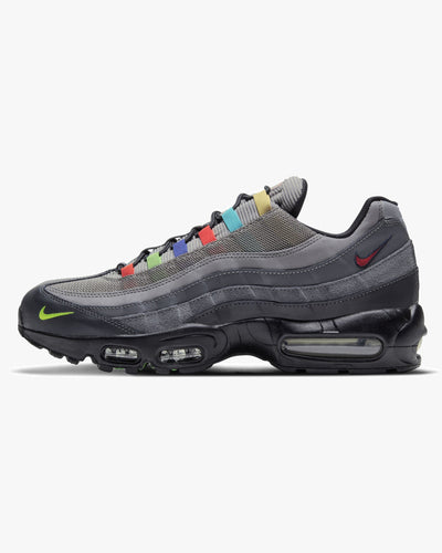 Nike Air Max 95 SE 'Evolution Of Icons' - Light Charcoal / University Red UK 7 CW6575-0017 194502093735 Nike Trainers
