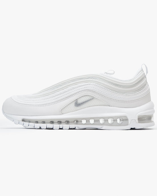 Nike Air Max 97 - White / Wolf Grey UK 7 9218261017 Nike Trainers