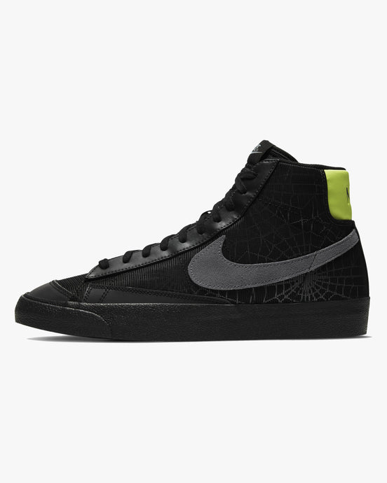 Nike Blazer Mid '77 'Spider Web' - Black / Limelight / Smoke Grey UK 6 DC19290016 194953046601 Nike Trainers
