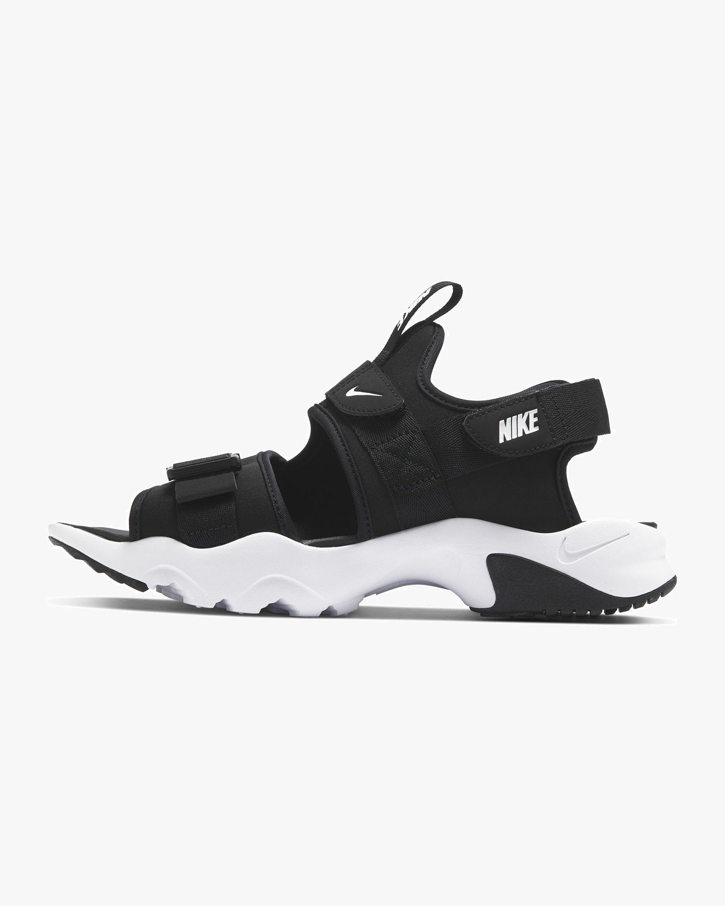 Nike Canyon Sandal - Black / White UK 7 CI8797-0027 193658083034 Nike Flip Flops & Sliders