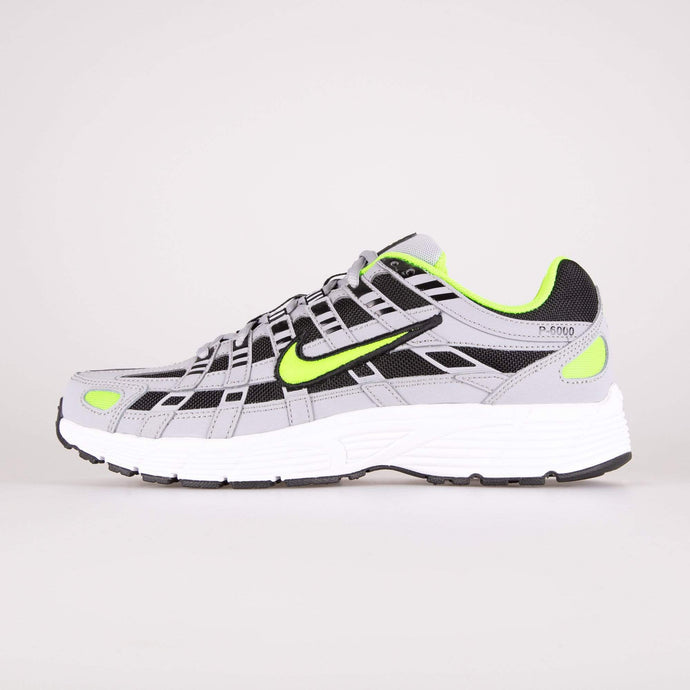 Nike P-6000 - Wolf Grey / Electric Green UK 7 CD64040057 193151453389 Nike Trainers